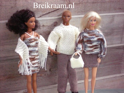 Breipatroon Barbie complete   sets